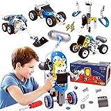HOOGAR Konstruktionsspielzeug für Kinder, STEM Bausteine Spielzeug für 5 6 7 8 9 10 + Jahre alte Jungen und Mädchen ,113 Stück Pädagogische Spielzeug Weinachtsgeschenk Geburtstagsgeschenke für Kinder