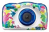Nikon COOLPIX W100 Kit Cámara compacta 13,2 MP 1/3.1' CMOS 4160 x 3120 Pixeles Multicolor - Cámara Digital (13,2 MP, 4160 x 3120 Pixeles, 1/3.1', CMOS, 3X, Multicolor)