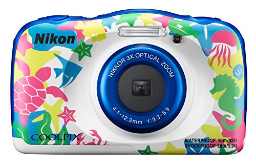 Nikon COOLPIX W100 Kit Cámara compacta 13,2 MP 1/3.1' CMOS 4160 x 3120 Pixeles Multicolor - Cámara Digital (13,2 MP, 4160 x 3120 Pixeles, 1/3.1', CMOS, 3X, Multicolor)