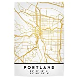 artboxONE Poster 60x40 cm Städte Portland Oregon Street