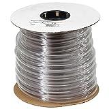 100' Roll of Watts RVLK Clear Vinyl Tubing 5/8' Inner Diameter x 3/4' Outer Diameter