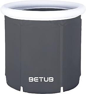 BETUB® Opvouwbare badkuip | 180 liter | Opvouwbare badkuip volwassenen | Ø 75 cm | Opvouwbare badkuipen | Hoogte 75 cm | 3 kg