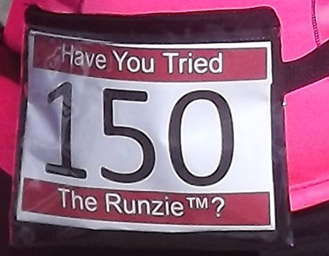 Runzie The Adjustable Running Belt with Bib Holder, Race bib Holder, Race Number Belt, Waist Pack
