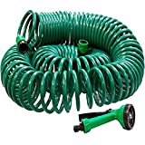 ASAB 30 METRE Coil 30M 100FT Retractable Garden Hose Reel Pipe with Spray