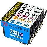 PrinThink 29XL 5 Multipack di cartucce compatibili con XP-342 XP-332 XP-345 XP-442 XP-445 XP-432 XP-247 XP-335 XP-235 XP-245 XP-435 XP-330 XP-430 XP-355 XP-352 XP-257 XP-255 XP-455 XP-452
