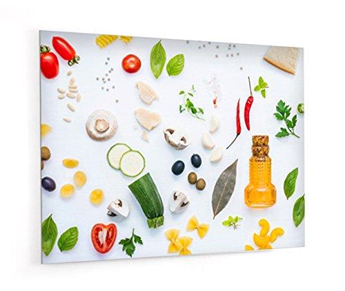Impression Murale® - Fond de hotte, crédence de cuisine en Verre de synthèse avec fixation adhésive\