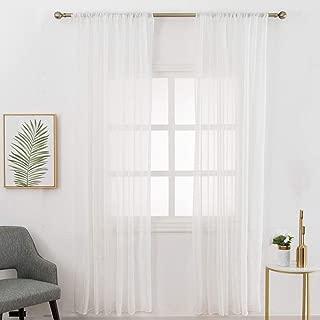 Best long voile curtains Reviews