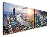 Paul Sinus Art Bangkok Thailand 180x50cm - 2 Wandbilder je