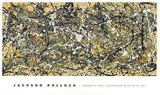 Number 8, 1949 Art Poster PRINT Jackson Pollock 50x30