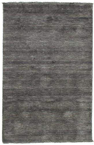 CarpetVista Alfombra Handloom Fringes - Gris Oscuro 120x180 Alfombra Moderna