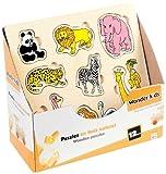 WDK Partner A0602110 - Puzzle infantil con piezas encajables de madera (modelo al azar) , color/modelo surtido