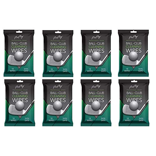 Toallitas de limpieza ProPlay Ball & Club   Potente limpiador elimina la suciedad, la hierba y la arena   Paquete cómodo y resellable – Paquete de 3 sin perfume
