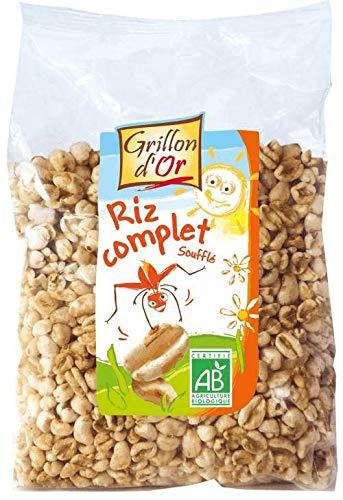 GRILLON D'OR Riz complet soufflé sans sucres ajoutés 200G Bio -