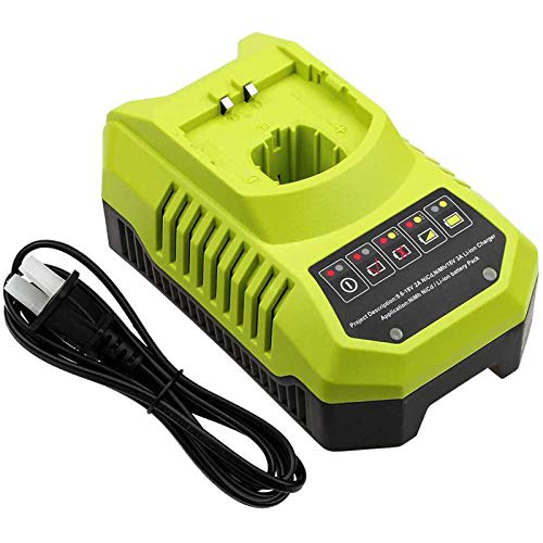 P117 Charger for Ryobi 18V 14.4V 12V 9.6V Lithium Ni-Cd&Ni-Mh Battery, Compatible with Ryobi 18 Volt One Plus P100 P102 P103 P104 P105 P107 P108 P109 P119 P122 Batteries