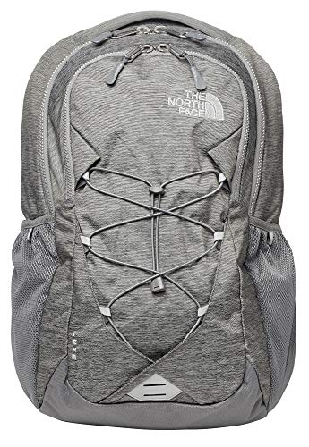 The North Face Women's Jester Backpack, Luxe Zinc Grey Light Heather/Silver, One Size