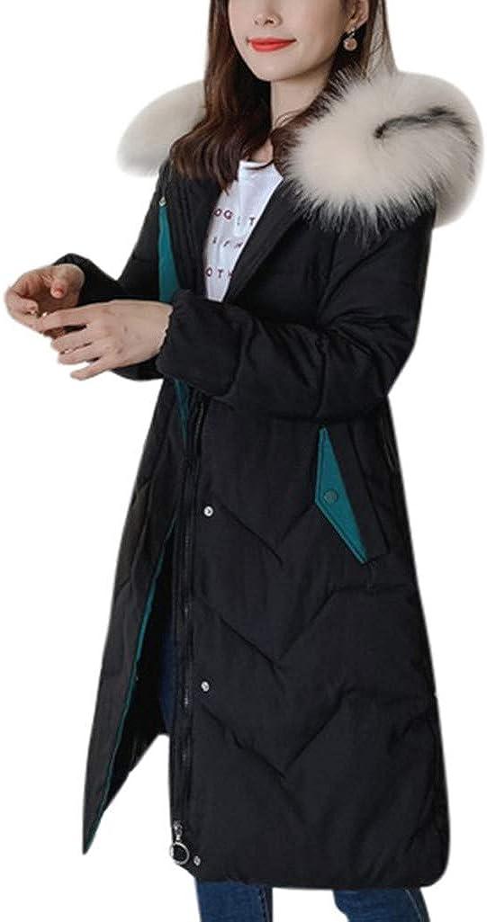 Women Winter Warm Cotton Hooded Winter Jacket Fashion Long-Sleeved Coat