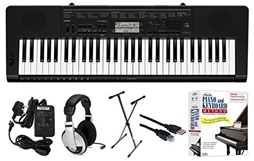 Casio CTK-3500 EPA 61-Key Premium Keyboard Pack