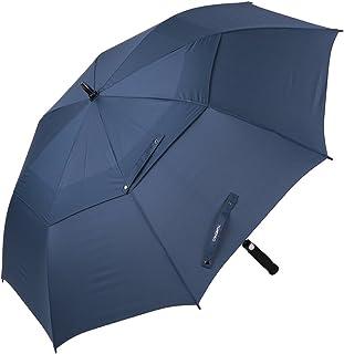 Automatic Open Golf Umbrella 61 Inch Oversize Windproof Waterproof Stick Umbrellas for Men Women.
