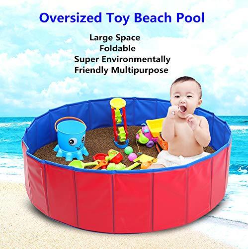 Children's Play Ball Pool van de baby Ronde Ball Pool Comfortabele Ocean Ball Pool Indoor Indoor Kindergarten baby Game Fence Jongen van de Peuter van het Meisje,100cm