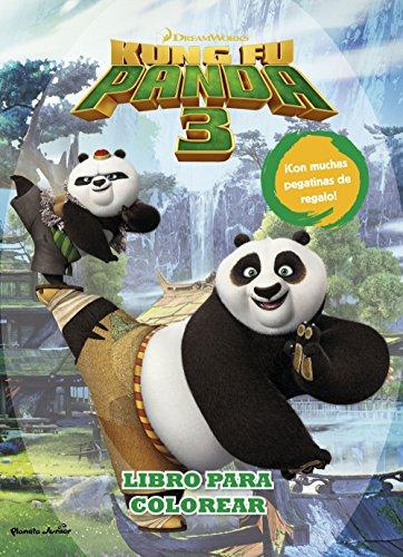 Kung Fu Panda 3. Libro para colorear (Dreamworks. Kung Fu Panda)