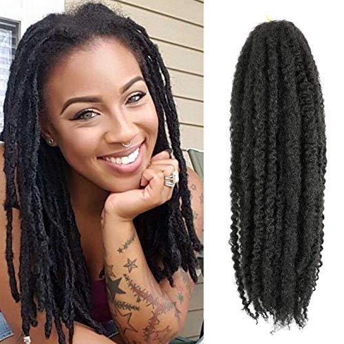 Callia Marley Hair For Twists 6 Packs Marley braiding Hair 18