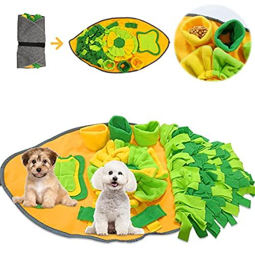 TaimeiMao Schnüffelspielzeug Intelligenz,rutschfest Hundespielzeug,Schnüffelspielzeug Intelligenz,Hunde Riechen,Riechen Trainieren,Decke Schnüffeln,Hund Schnüffelteppich Intelligenzspielzeug