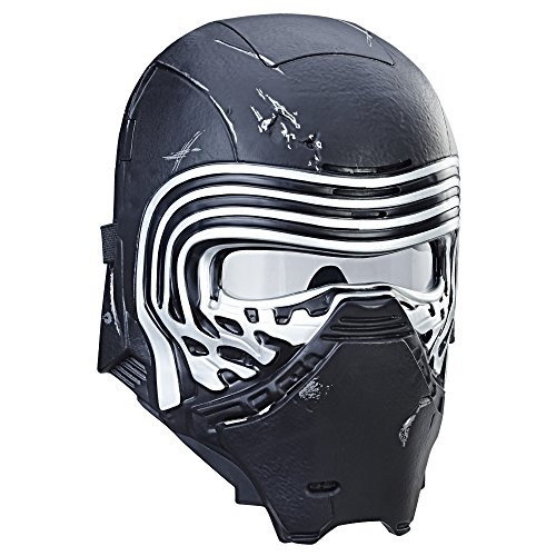 Hasbro Star Wars C1428EU4 Episode 8 Kylo Ren elektronische Maske mit Stimmenverzerrer Verkleidung