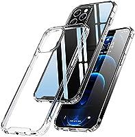 Eiaisi Kompatibel mit iPhone 12 Hülle/iPhone 12 Pro Hülle, Schlanke Weiche, Silikon Transparente Hülle,Stoßfeste und...