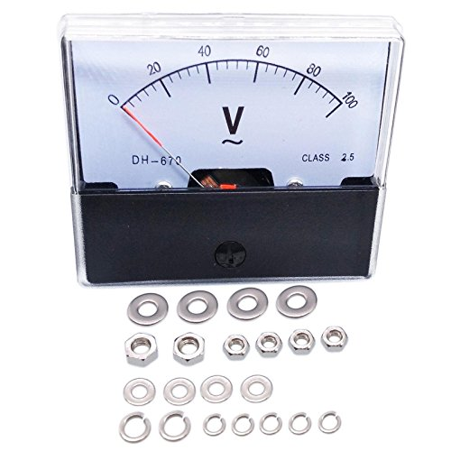 meter voltmeters Analog Panel Volt Meter Voltmeter Gauge DH-670 0-100V AC