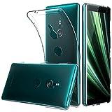 Peakally Sony Xperia XZ3 Hülle, Soft Silikon Dünn