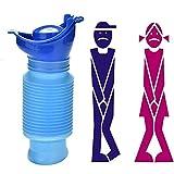 Urinario Femenino Emergencia Urinal para Viajes Camping para Ni/ños y Adultos DAZISEN Orinales Urinario Portatil