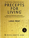 Precepts For Living: The UMI Annual Bible Commentary 2020-2021-Large Print