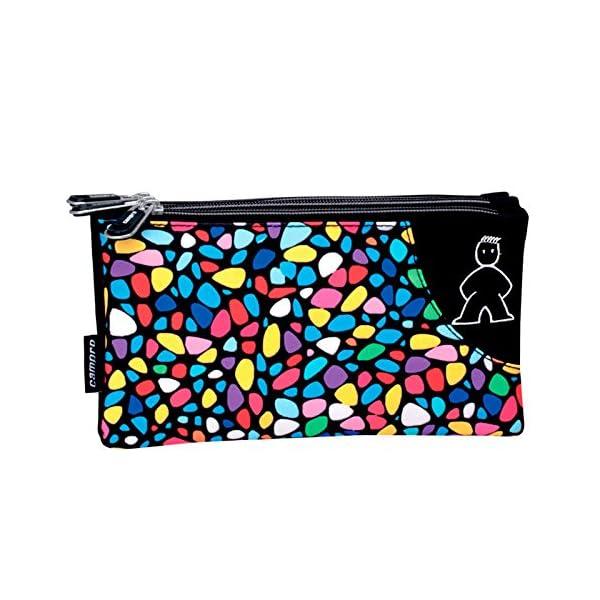 Montichelvo Montichelvo Backpack A.O. M&L Kiss Me Bolsa Escolar, 43 cm, Multicolor (Multicolour)