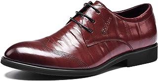 革靴 メンズ ウォーキングシューズ ビジネスシューズ 型押し 軽量 防水 防臭 厚底 身長アップ ブラック ワインレッド リーガル フォーマル 正式な スーツ 真面目 美脚 疲れにくい レースアップ 両色 24cm-27cm