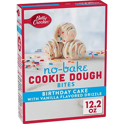 Betty Crocker No Bake Cookie Dough Bites, Birthday Cake