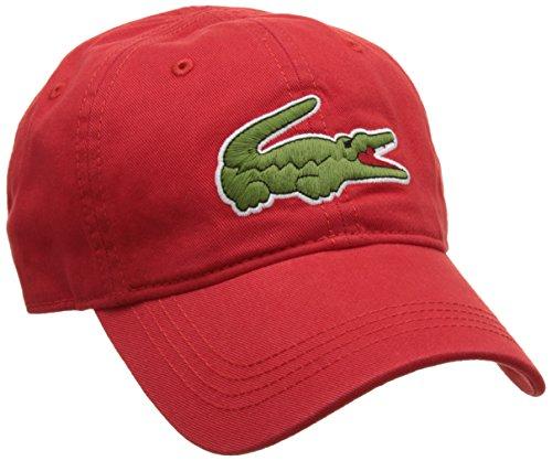 Lacoste Herren Rk8217 Baseball Cap, Rot (Rouge), One Size (Herstellergröße: TU)