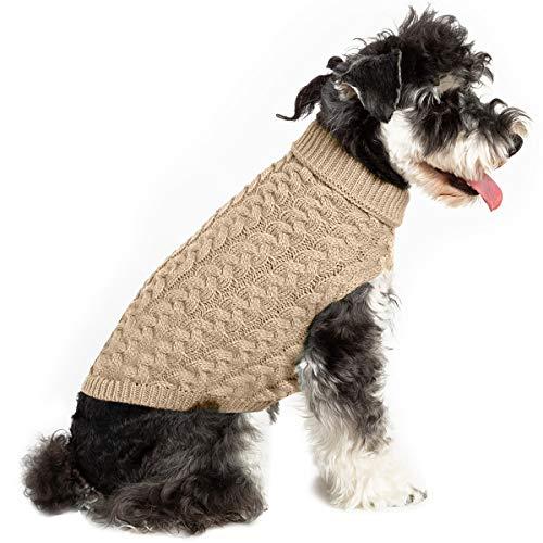 Petyoung Hond Trui Vest Gebreide Gehaakte Hond Winter Trui Hond Puppy Kleding Zachte Warme Trui Breigoed Voor Kleine Middelste Honden