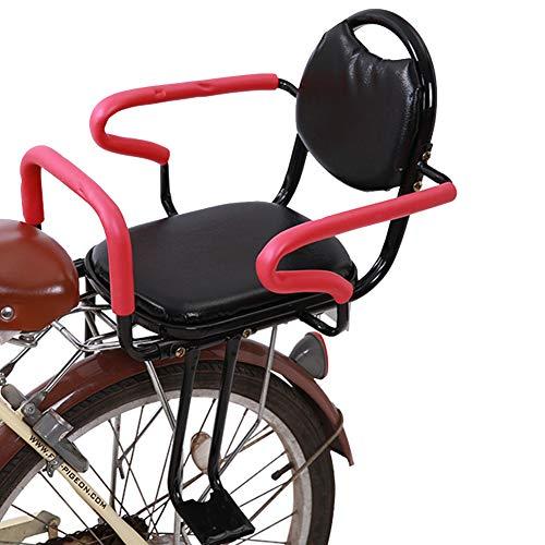 WSDSB Asiento Infantil para Bicicleta de Montaje Trasero, Accesorios para Bicicleta Asiento de Bicicleta para Niños de 1 a 3 Años