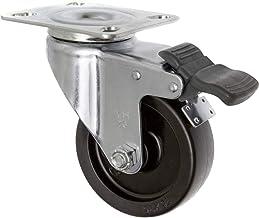 TOOLCRAFT TO-5137905 Zwenkwiel met rem 75 mm met schroefplaat