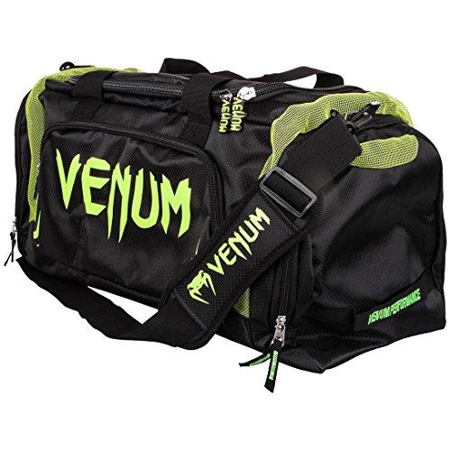 Venum Sporttasche Duffel 57L, Schwarz/Neon Gelb