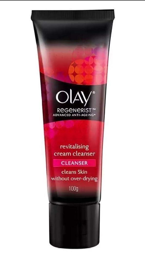 酸実際に水OLAY REGENERIST Revitalising cream CLEANSER 100g [並行輸入品]