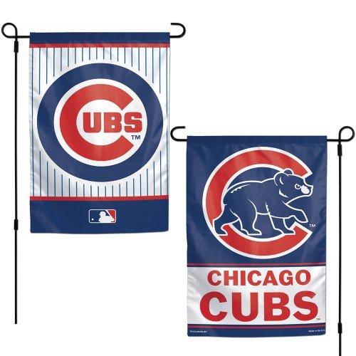 MLB Chicago Cubs Garden Flag