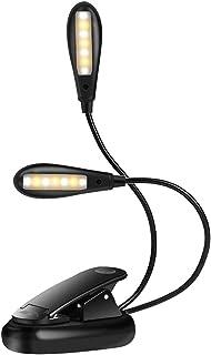 ACAMPTAR Luz LED de lectura con clip para 2 WiFi// Fire