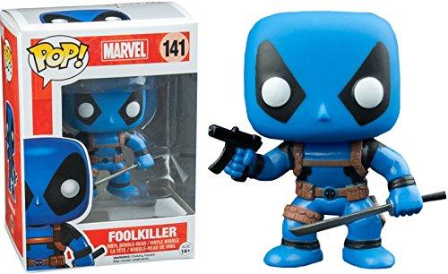 Funko - Marvel Comics-Deadpool Rainbow Squad-Foolkiller Figurine, Multicolore, 9352