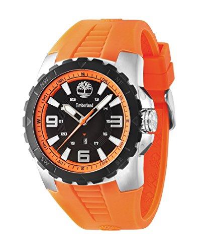 Timberland 14478JSTB/02P - Reloj , correa de goma color naranja
