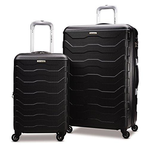 Samsonite Tread Lite Hardside Luggage, Black, 2-Piece Set (20/28)
