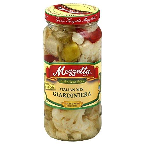 Mezzetta Italian Mix, Giardiniera, 16-Ounce (Pack of 3)