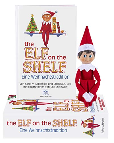 The Elf on the Shelf Eine Weihnachtstradition | Deutsche Boy Christmas Tradition | Junge Elf