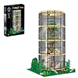 SESAY Juego de construcción de bloques de construcción, casa de árbol modular con iluminación, modelo arquitectura, 3495 piezas, compatible con Lego