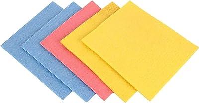 FeatkartCellulose Cleaning Sponge Mop (16x20x0.5 cm, Multicolour)